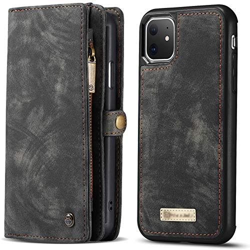 Harrms iphone11 Pro ケース 財布型 iphoneXS Max ケース カード収納 iphone11 Pro 手帳型 スタンド機能 衝撃吸収 レザー アイフォン11 Pro ケース スマホケース 全面保護カバー