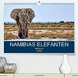 Namibias Elefanten(Premium, hochwertiger DIN A2 Wandkalender 2020, Kunstdruck in Hochglanz): Herrscher des Etosha-Nationalparks (Monatskalender, 14 Seiten )