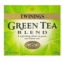 トワイニングパックあたりの緑と黒茶のブレンドティーバッグ80 (x 6) - Twinings Green and Black Tea Blend Tea Bags 80 per pack (Pack of 6) [並行輸入品]