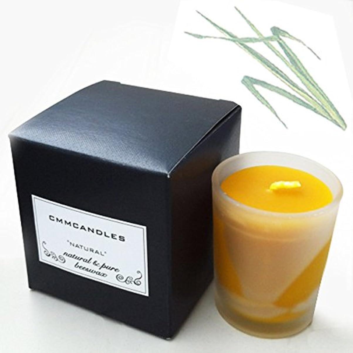 有益沼地緊張する蜜蝋キャンドル&オイルセット シトロネラ/CITRONELLA