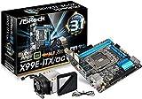 ASRock Intel X99チップセット搭載 Mini-ITXマザーボード X99E-ITX/ac
