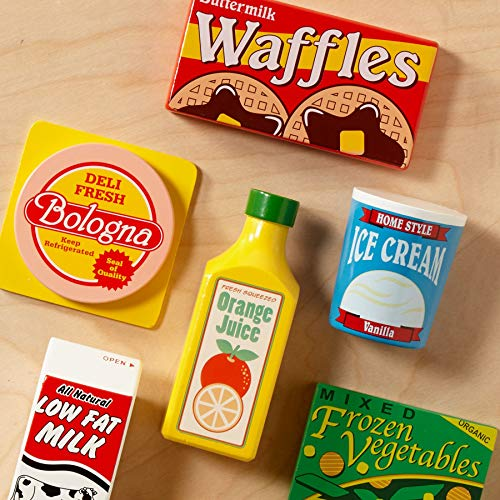 『Melissa und Doug: K?hlschrank Lebensmittel Set (import)』の2枚目の画像