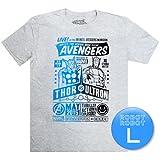 L. マーベル アベンジャーズ マイティー・ソー vs ウルトロンTee / Marvel Collector Corps Thor vs. Ultron T-Shirt アメコミ・映画Tシャツ [並行輸入品]