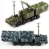 VERY100【4D立体DIYキット】 1/72スケール 組立式 戦車模型 ★戦車 S300ミサイル戦車模型 / 第2弾誘導照射レーダー戦車模型 2種類 カラーランダム出荷 誘導照射レーダー戦車模型