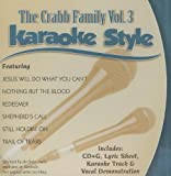 The Crabb Family Vol. 3 by Karaoke (2009-09-01)