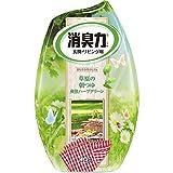 「お部屋の消臭力 消臭芳香剤 部屋用 ハーブグリーン朝もやの草原の香り 400ml」のサムネイル画像