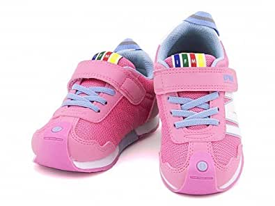 [イフミー] IFME 女の子 男の子 キッズ 子供靴 スニーカー つまずきを防止 土踏まずを鍛える 30-5710 ピンク 15.0cm