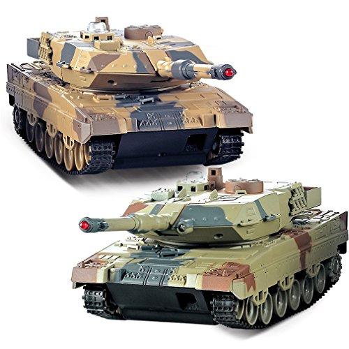 YKS RCコンバットパンツァー ラジコン 戦車 バトル タンク 模型 キャタピラ ラジコン リモコン 戦車 プラモデル 対戦