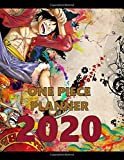 One Piece Planner 2020: Anime Edition Calendar Planner 2020, 8.5 x 11, Full Calendar with 156 pages, Images&Quotes