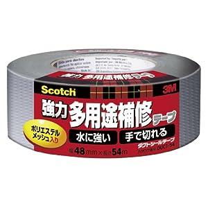 3M 超強力多用途補修テープ ダクトシールテープ (DUCT-54) 48×54m