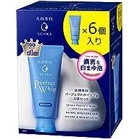 洗顔専科 パーフェクトホイップu 6個セット(120g×6個) やさしく香るみずみずしいフローラルの香り