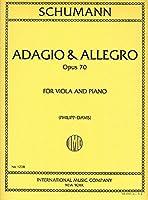 SCHUMANN - Adagio y Allegro Op.70 para Viola y Piano (Davis)