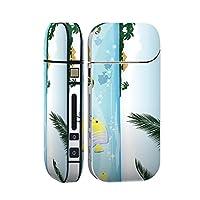 スマコレ 新型iQOS 2.4 Plus/アイコス iQOS 両対応 IQOS シール 全面 ケース おしゃれ アイコス カバー フルセット 全面ケース 保護 フィルム ステッカー デコ アクセサリー デザイン アニマル 海 魚 001353