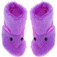 KESOTO 1/6スケール ぬいぐるみ スノーブーツ 靴 シューズ 12インチ ブライスドール用 ファッション 全4色 - パープル
