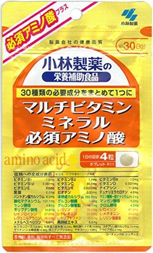 小林製薬の栄養補助食品 マルチビタミン ミネラル 必須アミノ酸 約30日分 120粒 -