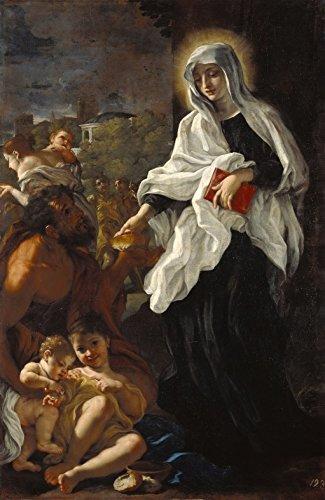 「天使の祭壇シリーズ」 3月9日が誕生日の人をとりなす守護聖人 聖フランシスカ・ローマ修道女(St. Frances of Rome) フレームセット 祈りの癒し ヒーリング 家の守り神 困難の克服に (Gシリーズ・フレームセット)