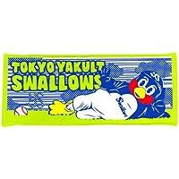 東京ヤクルトスワローズ つば九郎 ごろん つば九郎 フェイスタオル - -