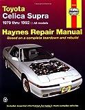 整備マニュアル「トヨタ・スープラ 1979〜1992年モデル」