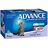 Advance Adult Cat Delicate Tuna Wet Food 7 x 85g