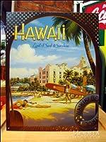 アメリカンブリキ看板 Hawaii Sun&Surf