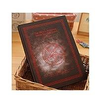 クラシックノート ジャーナルレトロ空白内部ページメモ帳クリエイティブステーショナリーノートブックギフトハードカバーブックパーソナリティブレットノートブック ミニメモ帳 (Color : Silver)