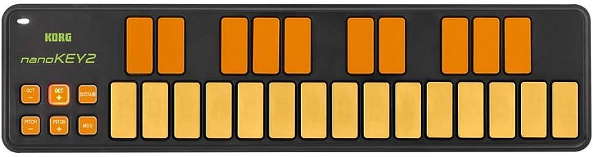 KORG USB MIDIキーボード NANOKEY2 25鍵 オレンジ&グリーン