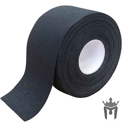 Meister スポーツと医療用Meister プレミアムアスレチックトレーナーのテープ(50%長い) - 13.7 m x 3.8 ...