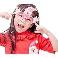 (ビグッド)Bigood 可愛い 子供用 ハロウィン飾り メガネ コスプレ アクセサリー パーティー 学園祭 文化祭 変装 道具(タイプH)