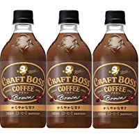 サントリー コーヒー クラフトボス ブラウン 500ml×3本