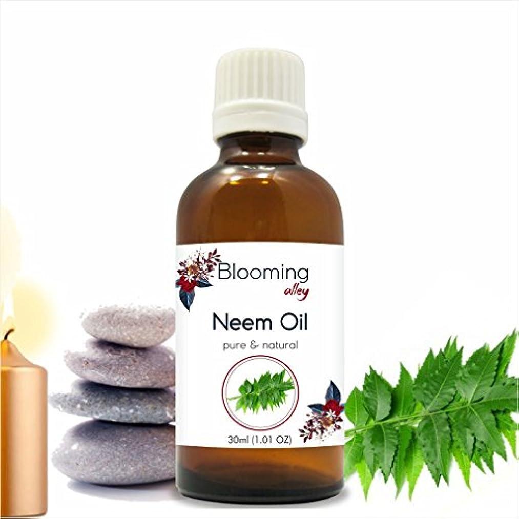 熟した有効教科書Neem Oil (Azadirachta Indica) Essential Oil 30 ml or 1.0 Fl Oz by Blooming Alley
