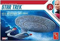 Round 2, LLC 1/25000 Star Trek USS Enterprise-D Snap [並行輸入品]