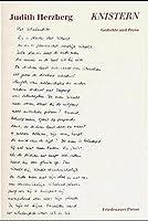 Knistern. Gedichte und Prosa