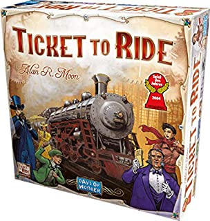 Ticket to Ride Strategy Game (0975277324) | Amazon Products