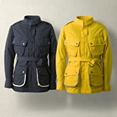 Quesorvel M42 Jacket: Navy, Yellow