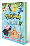 Pokemon Alola Collection: The Pokemon School Challenge / Battle for the Z-Ring / Adventure on Treasure Island / Old Buddies, New Battles (Pokemon Chapter Books: Sun & Moon Series)
