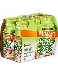 ハウスウェルネスフーズ PERFECT VITAMIN1日分のビタミン ベジタブル&フルーツ味 6本パック(190g×6)