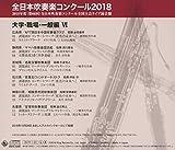 全日本吹奏楽コンクール2018 大学・職場・一般編VI<Vol.16> 画像