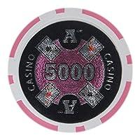 Brybelly Ace Casino Poker Chip Heavyweight 14-gramクレイComposite–パックof 50