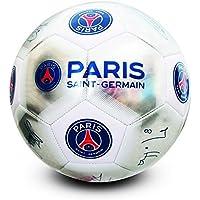 パリ・サンジェルマン フットボールクラブ Paris Saint Germain FC オフィシャル商品 シルバー サイン サッカーボール 5号