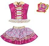 リカちゃん ドレス 原宿ガールズスクールコーデドレスセット GIRLS CHECK ピンク