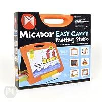 Micador Easy Carry Art Studio ミカドール ホワイトボード 黒板 画板 3WAYボード オレンジタイプ 0249282