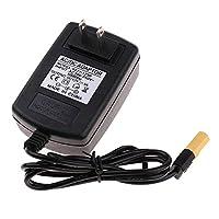 Perfk RCドローン AC‐DC電源アダプター 12V XT60プラグ 1S LiPoバッテリーチャージャー用