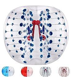 バブルサッカー直径5'(1.5m)人類ハムスタ一ボール、バブルボール、バンパーボール、ゾーブ、サイクルボール、循環ボール