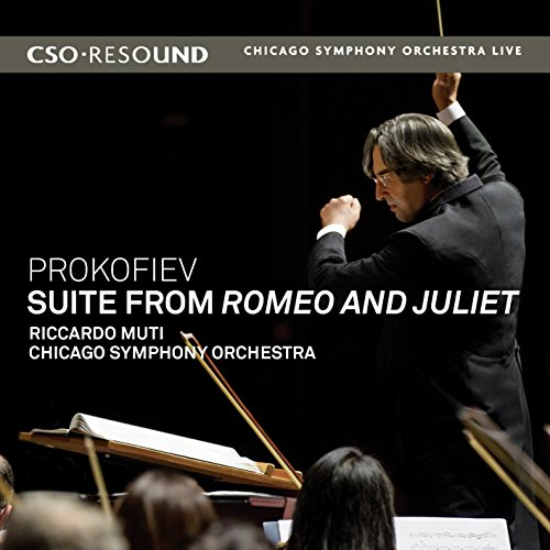 プロコフィエフ : 「ロメオとジュリエット」組曲 第1番、組曲 第2番 より (Prokofiev : Suite from Romeo and Juliet / Riccald Muti , Chicago Symphony Orchestra) [輸入盤 / 日本語帯・解説付]