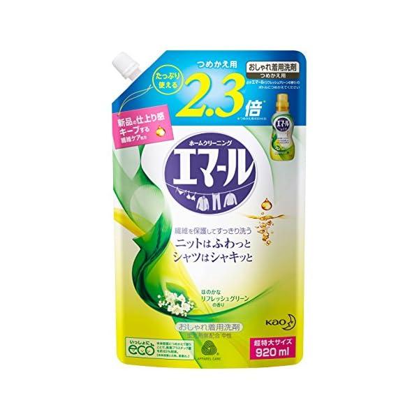 【大容量】エマール 洗濯洗剤 液体 おしゃれ着用...の商品画像
