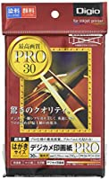 ナカバヤシ 写真用紙 デジカメ印画紙PRO 強光沢 ハガキ 30枚 PRSK-PCH-30G