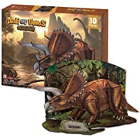 3d Puzzle - triceratops