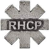 【予約商品】 RED HOT CHILI PEPPERS レッチリ (サマーソニック 来日記念) - RHCP logo Asterisk/Alchemy(ブランド) / バッジ 【公式/オフィシャル】