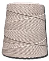 T.W . Evans Cordage 06-060 6 Poly Cotton Twine 2-Pound Cone, 6400-Feet by T.W . Evans Cordage Co.