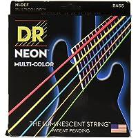 DR ベース弦 5弦 NEON ニッケルメッキ マルチ カラー コーテッド .045-.125 NMCB5-45